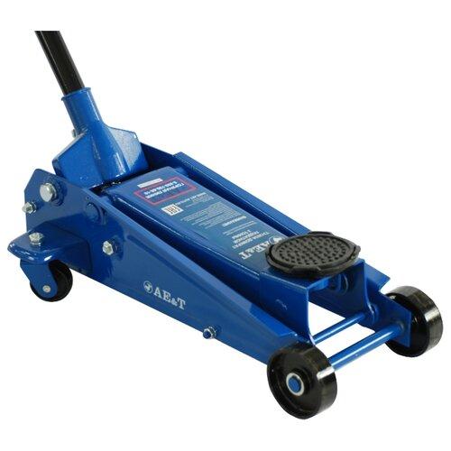 Домкрат подкатной AE&T T31203A (3 т) синий