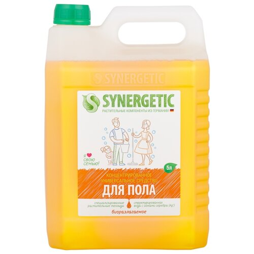 Synergetic Универсальное моющее средство 5 л средство моющее mr glatt daily универсальное 5 л