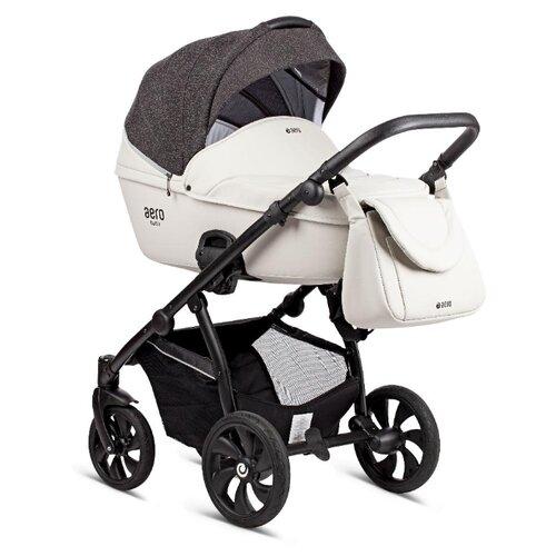 Купить Универсальная коляска Tutis Aero Reflective (2 в 1) 141 светло-серый кожа, Коляски