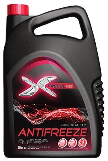Антифриз X-FREEZE RED 12 — купить по выгодной цене на Яндекс.Маркете