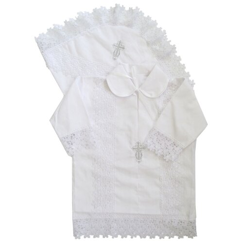 Комплект Папитто размер 68-74, белый