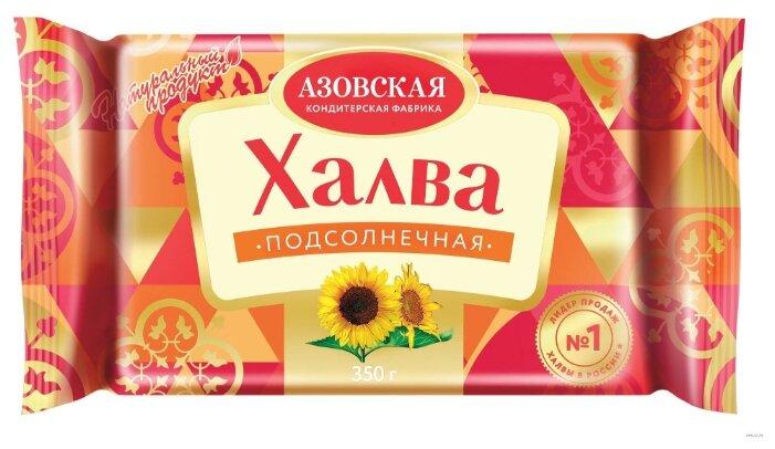 Халва Азовская кондитерская фабрика подсолнечная 350 г