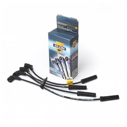 Комплект высоковольтных проводов системы зажигания SLON 2123-3707080-10 для LADA 2123