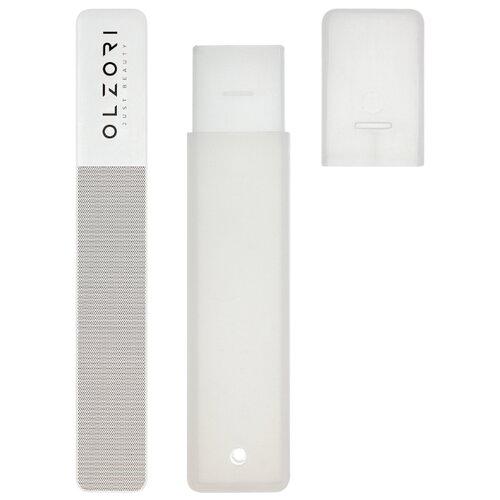 OLZORI Пилка для полировки стеклянная VirGo A серый