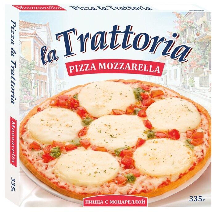 La Trattoria Замороженная пицца Моцарелла 335 г