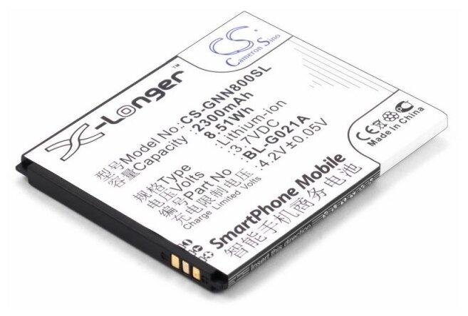 Аккумулятор Cameron Sino CS-GNN800SL для Fly IQ446 Magic