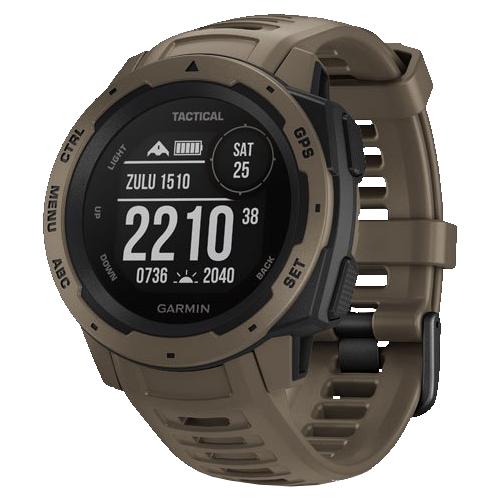 Часы Garmin Instinct Tactical коричневый