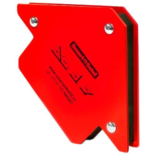 Магнитный угольник Smart & Solid MAG 601 красный магнитный угольник start sm1603 75 lbs красный