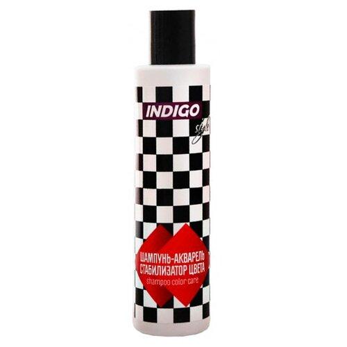 Купить Indigo Style шампунь-акварель стабилизатор цвета для усиления яркости цвета волос 200 мл