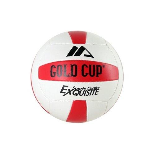 Фото - Волейбольный мяч Gold Cup Exquisite белый/красный cup