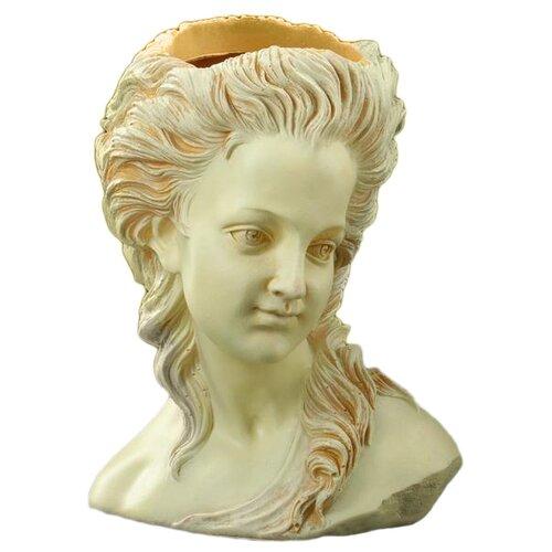 Ваза Хорошие сувениры Афина (5416108/5312205), бежевый