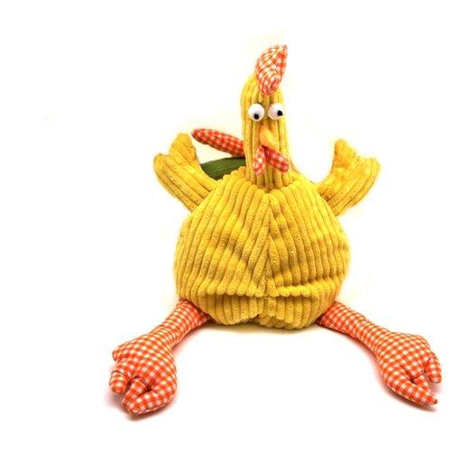 Мягкая игрушка Jackie Chinoco Петух Барри, желтый 30 см