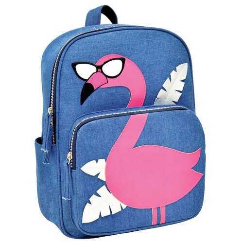 Феникс+ Рюкзак Фламинго (48824), синий, Рюкзаки, ранцы  - купить со скидкой
