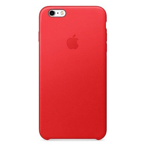 Чехол-накладка Apple кожаный для iPhone 6/6s (PRODUCT)RED недорого
