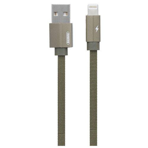 Кабель Remax Kerolla USB - Apple Lightning (RC-094i) 1 м зеленый кабель remax kerolla usb usb type c rc 094a 1 м синий