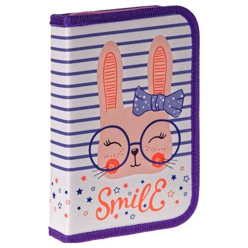 Купить ArtSpace Пенал Smile (ПТ1_29077) фиолетовый, Пеналы
