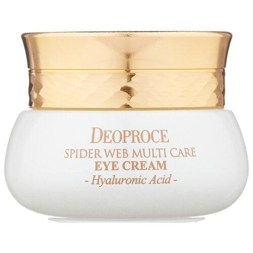 Deoproce Крем для век с протеинами паутины Spider Web Multi Care Eye Cream 30 мл крем для век омолаживающий 40г deoproce herb gold