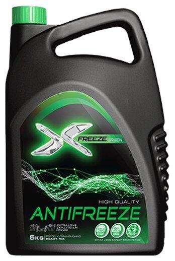Антифриз X-FREEZE GREEN 11 — купить по выгодной цене на Яндекс.Маркете
