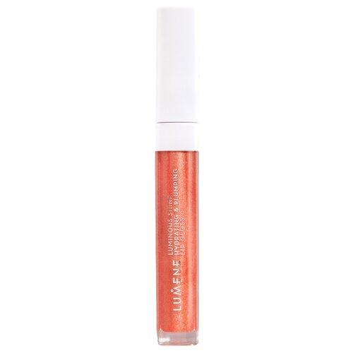 Купить Lumene блеск для губ Luminous Shine Hydrating & Plumping Lip Gloss, 3 fresh peach