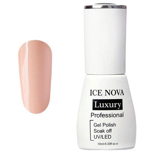 Купить Гель-лак для ногтей ICE NOVA Luxury Professional, 10 мл, 002 crepe