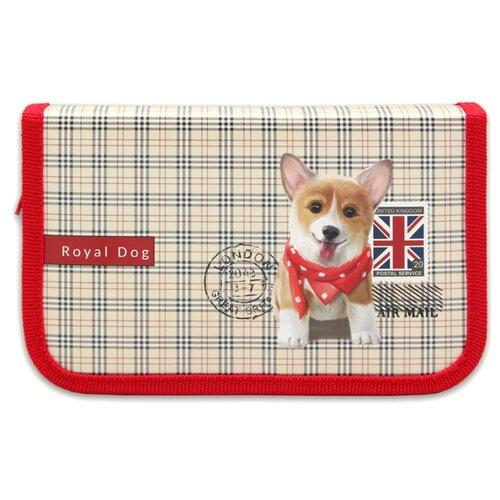 PROFIT Пенал Собачка в шарфике (ПН-1849) красный