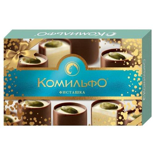 Набор конфет Комильфо Фисташка 116 гр набор конфет савинов нежное облачко суфле 273 г