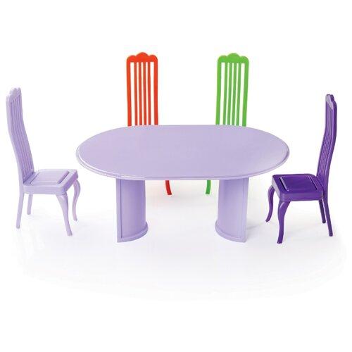 ОГОНЁК Столовая комната в пакете (С-1481) фиолетовый/зеленый/оранжевый набор продуктов огонёк фрукты 1 с 1431 зеленый желтый фиолетовый