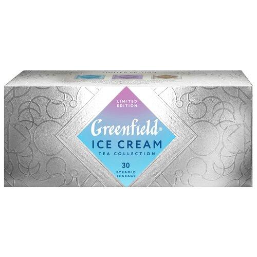 Чай черный Greenfield Limited edition Ice Cream ассорти в пирамидках, 30 шт. чай в капсулах greenfield raspberry cream 10 капс
