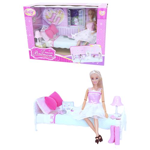Набор Anlily Спальня, 29 см, 99051 кукла anlily с одеждой 200170509