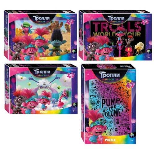 Пазл 120 эл. Step Puzzle DreamWorks. Trolls 2, ассорти, цена за штуку, 298549
