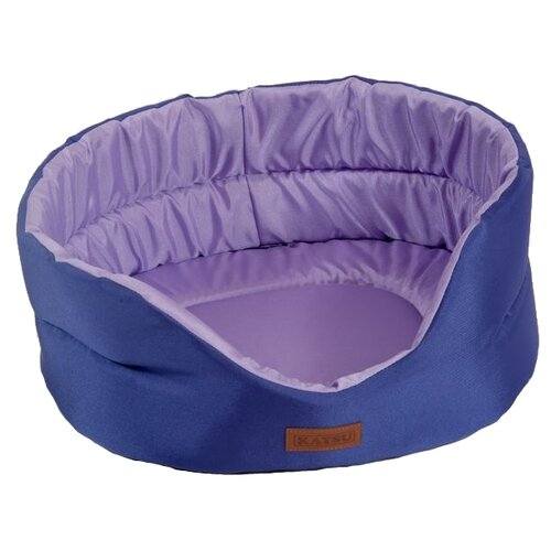Лежак для собак и кошек Katsu Classic Shine XXL 70х62х25 см фиолетовый/лаванда букет лаванда 44см фиолетовый
