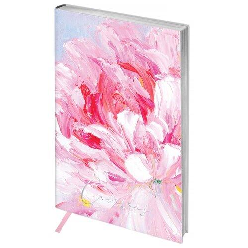 Ежедневник Greenwich Line Vision. Canvas недатированный, искусственная кожа, А5, 80 листов, розовый