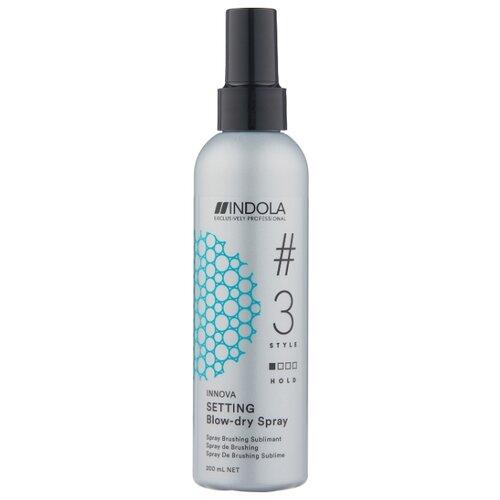 Indola Спрей для укладки волос Setting Blow-dry, слабая фиксация, 200 мл