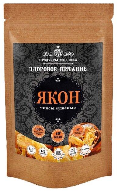 Продукты ХХII века Якон чипсы сушеные 200 г