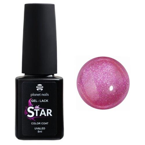 Купить Гель-лак для ногтей planet nails Star, 8 мл, оттенок 728