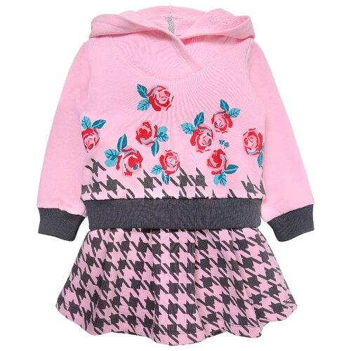 Платье Мамуляндия размер 86, розовый