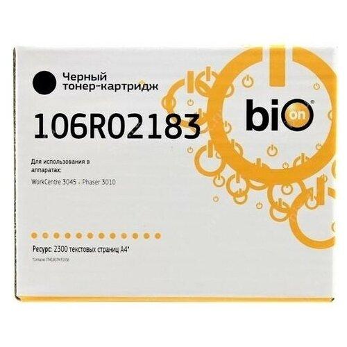 Фото - Картридж Bion 106R02183 для Xerox Phaser WC 3010/3040/3045, 2 300 стр. с чипом [Бион] (арт. 1306810) bion 106r01277 картридж для xerox wc 5016 5020 b 5000 стр [бион]