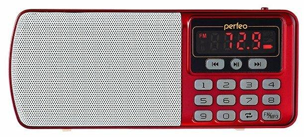 Радиоприемник Perfeo Егерь FM+ i120 Brown