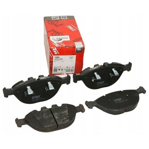Фото - Дисковые тормозные колодки передние TRW GDB1529 для BMW X5 (4 шт.) дисковые тормозные колодки передние trw gdb3286 для toyota highlander lexus rx 4 шт