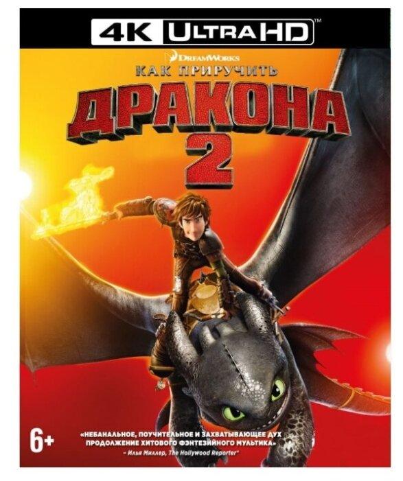 Как приручить дракона 2 (Blu-ray 4K)