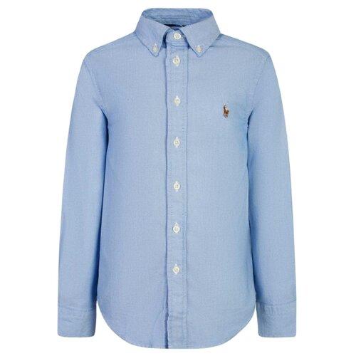 Рубашка Ralph Lauren размер 116, голубой