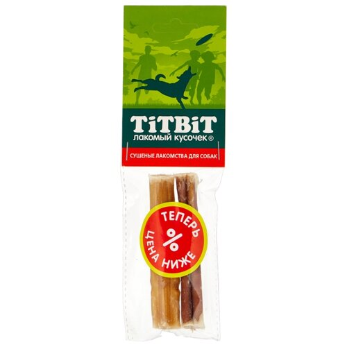 Лакомство для собак Titbit Корень бычий догодент, 2 шт. в уп.