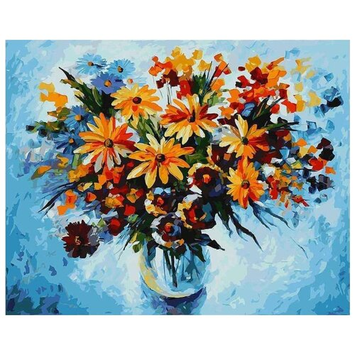 Купить Картина по номерам Белоснежка Ромашки 2 , 40x50 см, Картины по номерам и контурам