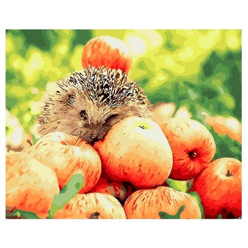 "ВанГогВоМне Картина по номерам ""Яблочный урожай"", 40х50 (ZX 21170)"