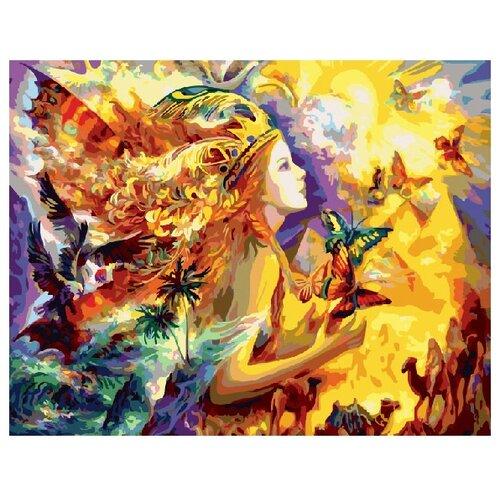 Купить ВанГогВоМне Картина по номерам Солнечная принцесса , 40х50 см (ZX 20301), Картины по номерам и контурам