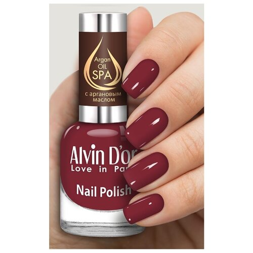 Лак Alvin D'or SPA Argan Oil, 15 мл, оттенок 5035 лак alvin d or spa argan oil 15 мл оттенок 5036