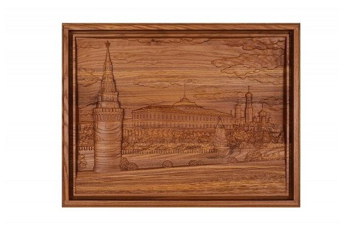 Лото Rovertime в резной шкатулке Кремль, мореный ясень