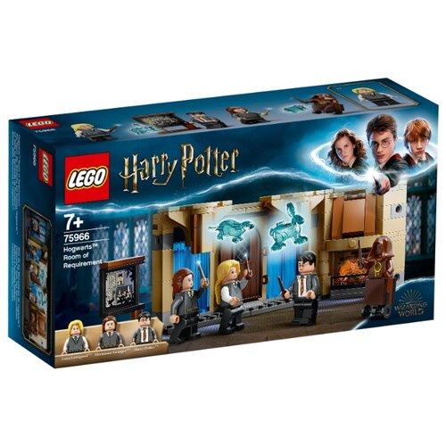 Конструктор LEGO Harry Potter 75966 Выручай-комната Хогвартса конструктор lego harry potter tm 75967 запретный лес грохх и долорес амбридж