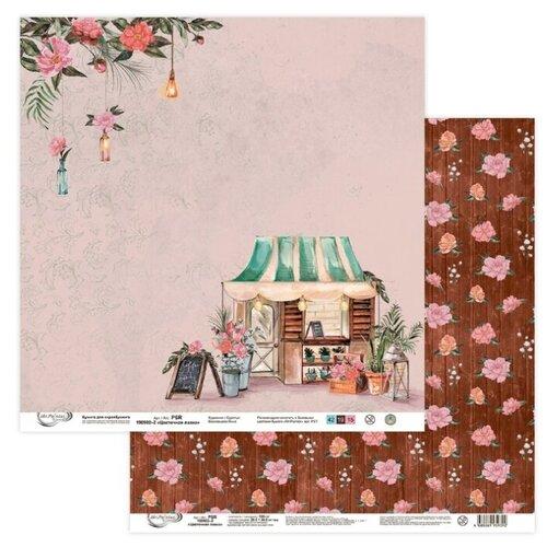 Купить Бумага Mr. Painter 30, 5x30, 5 см, 10 листов, PSR 190902 02 Цветочная лавка розовый/коричневый, Бумага и наборы