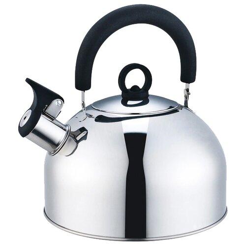 Zeidan Чайник со свистком Z4110 2.7л, серебристый